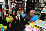 BAL HABOUR, FL - OCTOBER 12: Author Jim Ritterhoff signs copies of his book during the Cayman Islands Children's book reading 'Tuke the Specialist Turtle' at Books and Books on Sunday October 12, 2014 in Bal Habour, Florida.  (Photo by Johnny Louis/jlnphotography.com)