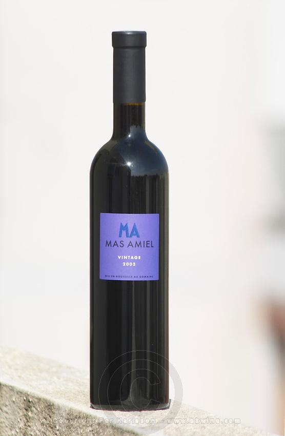 Mas Amiel Vintage 2003, Appellation Controlee Maury Vin Doux Naturel, Languedoc-Roussillon, France