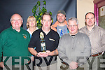 Liam Good, Marian Gilfoyle, John Donnelson, Ray Cremin, Dave Cooney and Dave Hodnett from the An Riocht pistol club, Keel at their awards night in the Anvil Bar Boolteens on Saturday night   Copyright Kerry's Eye 2008