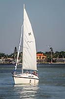 Boating along Gordon River, Naples, Florida, USA. Photo by Debi Pittman Wilkey/News-Press