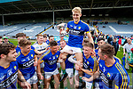 Killian Spillane Kerry captain celebrates with his teammates after Kerry's victory over Meath in the All Ireland Junior Football Final at O'Moore Park, Portlaoise on Saturday.