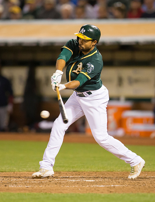 Coco Crisp drives in the game winning run.<br />