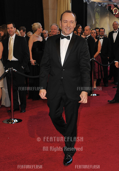 Kevin Spacey at the 83rd Annual Academy Awards at the Kodak Theatre, Hollywood..February 27, 2011  Los Angeles, CA.Picture: Paul Smith / Featureflash