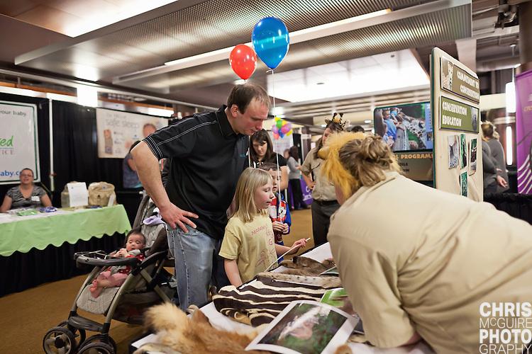 02/12/12 - Kalamazoo, MI: Kalamazoo Baby & Family Expo.  Photo by Chris McGuire.  R#11