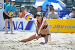 Keiko Urata (JPN),.MAY 5, 2012 - Beach Volleyball : JBV Tour 2012 Sports Club NAS Open at Odaiba Beach, Tokyo, Japan. (Photo by Jun Tsukida/AFLO SPORT) [0003].