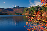 Mt. Chocorua and Chocorua Lake in the Fall, Tamworth, New Hampshire, USA