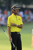 Bubba Watson (USA) on the 14th green during Thursday's Round 1 of the 2017 PGA Championship held at Quail Hollow Golf Club, Charlotte, North Carolina, USA. 10th August 2017.<br /> Picture: Eoin Clarke | Golffile<br /> <br /> <br /> All photos usage must carry mandatory copyright credit (&copy; Golffile | Eoin Clarke)