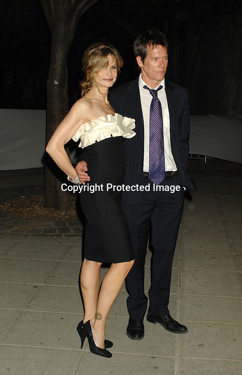 Kyra Sedgwick and Kevin Bacon ..arriving at The Vanity Fair Party to celebrate the 6th Annual ..Tribeca Film Festival on April 24, 2007 at The State Supreme Courthouse. ..Robin Platzer, Twin Images