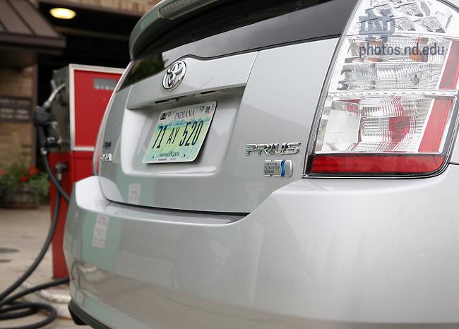 The University's Toyota Prius Hybrid car.
