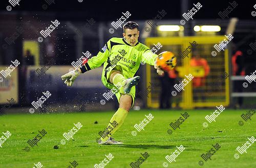 2014-10-25 / Voetbal / seizoen 2014-2015 / ASV Geel - Dessel Sport / Stijn Wertelaers<br /><br />Foto: mpics.be