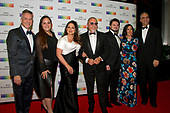 Gloria Estefan, her husband, Emilio, and their family, arrive for the formal Artist's Dinner honoring the recipients of the 40th Annual Kennedy Center Honors hosted by United States Secretary of State Rex Tillerson at the US Department of State in Washington, D.C. on Saturday, December 2, 2017. The 2017 honorees are: American dancer and choreographer Carmen de Lavallade; Cuban American singer-songwriter and actress Gloria Estefan; American hip hop artist and entertainment icon LL COOL J; American television writer and producer Norman Lear; and American musician and record producer Lionel Richie.  <br /> Credit: Ron Sachs / Pool via CNP