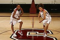 01 October 2007: (L-R): Candice Wiggins and Cissy Pierce.