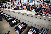 "23.08.2014 - ""Protest: UK Stop Arming Israel"""