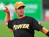 19 June 2007: Taylor Greer of the West Virginia Power from the South Atlantic League All-Star game in Rome, Ga., Tuesday, June 19, 2007. Photo by:  Tom Priddy/Four Seam Images