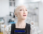 The first complex AI system realized on the SingularityNET is an AI brain for Sophia Hanson — the most sophisticated humanoid robot ever built.<br />