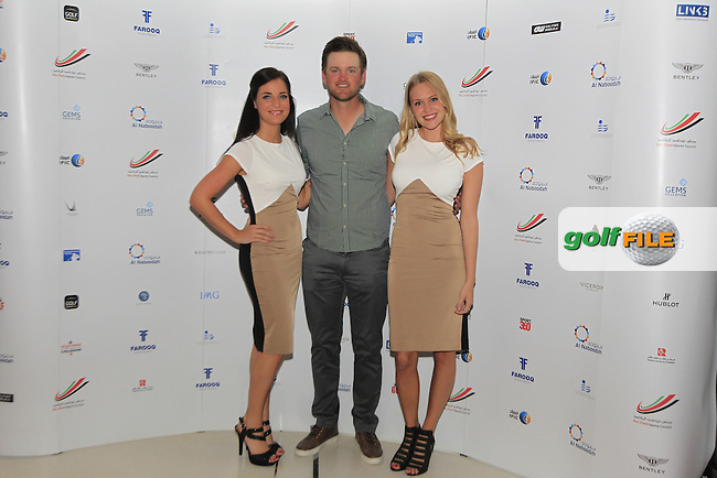 Bernd Wiesberger during the 2015 Abu Dhabi Invitational Gala Evening held at The Viceroy Hotel, Yas Island, Abu Dhabi.: Picture Eoin Clarke, www.golffile.ie: 1/25/2015