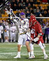 03-28-18 Harvard at UAlbany NCAA Men's Lacrosse