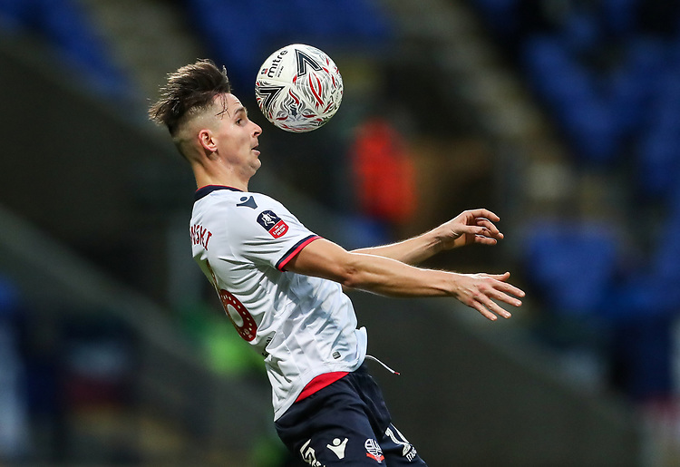 Bolton Wanderers' Pawel Olkowski<br /> <br /> Photographer Andrew Kearns/CameraSport<br /> <br /> Emirates FA Cup Third Round - Bolton Wanderers v Walsall - Saturday 5th January 2019 - University of Bolton Stadium - Bolton<br />  <br /> World Copyright © 2019 CameraSport. All rights reserved. 43 Linden Ave. Countesthorpe. Leicester. England. LE8 5PG - Tel: +44 (0) 116 277 4147 - admin@camerasport.com - www.camerasport.com