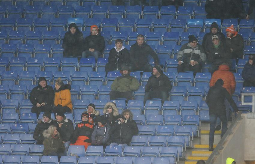 Blackpool fans enjoy the pre-match atmosphere <br /> <br /> Photographer Kevin Barnes/CameraSport<br /> <br /> The EFL Sky Bet League One - Oxford United v Blackpool - Saturday 15th December 2018 - Kassam Stadium - Oxford<br /> <br /> World Copyright © 2018 CameraSport. All rights reserved. 43 Linden Ave. Countesthorpe. Leicester. England. LE8 5PG - Tel: +44 (0) 116 277 4147 - admin@camerasport.com - www.camerasport.com