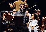 1992 Bagdad,Franco Battiato in concerto a Bagdag, Franco Battiato concert in Bagdad © Fulvia Farassino