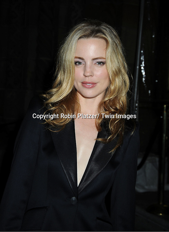 actress Melissa George attends The New Yorkers for Children 2011 Fall Gala .on September 20, 2011 at Cipriani 42nd Street in New York City. Carmelo Anthony was honored.