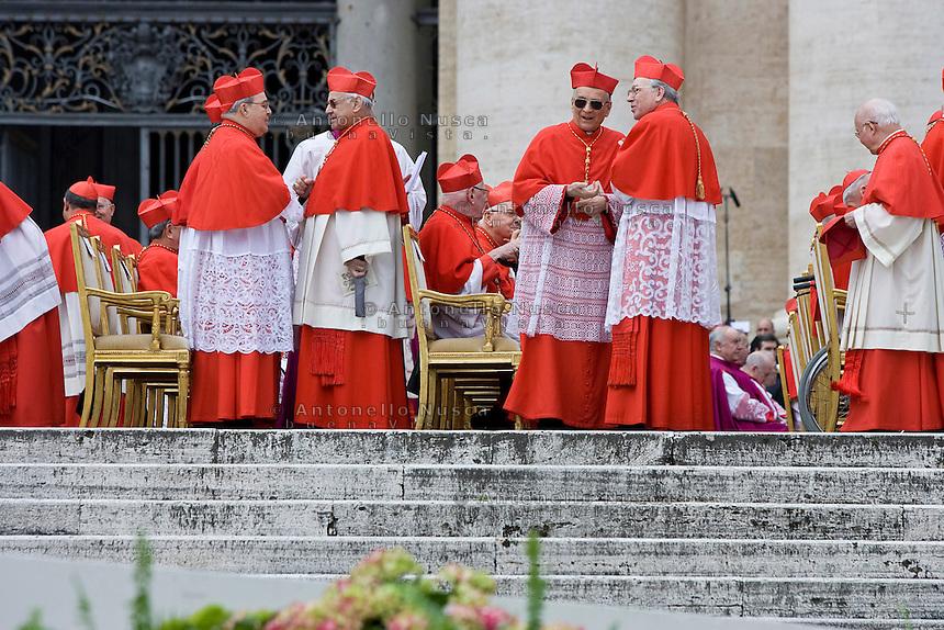 Roma, 24 marzo  2006. Concistoro ed elezione di nuovi cardinali