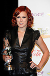 US actress Rumer Willis receives the Female Stars of Tomorrow Award at the 2009 ShoWest Awards in Las Vegas, California 2 April 2009. The closing night ceremony for the 2009 ShoWest features top film industry talent at the final night banquet and awards ceremony.
