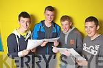 Celebrating their achievements in the Junior Certificate last Wednesday was Danny Murphy, Stephen Nash, Kieran Foley and Sean Scanlon from Cloiste Ide agus Iosef, Abbeyfeale.