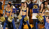 Florida International University Golden Panthers versus the University of Miami Hurricanes at Pharmed Arena, Miami, Florida on Tuesday, December 5, 2006.  The Golden Panthers defeated the Hurricanes, 83-78...The FIU Dazzlers entertain the crowd during a time-out.<br />