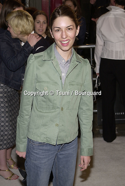 Sofia Jonz Coppola arriving at the premiere of Blow  at the Chinese Theatre in Los Angeles 3/29/2001             -            CoppolaSofia01A.jpg
