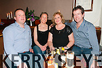 Quiz: Alan Doran, Norma Sheridan, Elaine doran & Fergal Sheridan taking part in the Listowel Rugby Club Quiz nigh at the Sheebeen Bar, Listowel on Friday night last.