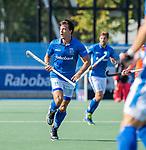 UTRECHT - Jasper Luijkx (Kampong)  tijdens   de hoofdklasse competitiewedstrijd mannen, Kampong-Bloemendaal (2-2) .  COPYRIGHT   KOEN SUYK