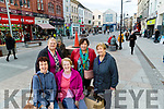 Mary O'Sullivan Marie Sinnott, Maureen O'Sullivan, Mary Reck and Joanna O'Sullivan pictured at The Mall Tralee on Wednesday.