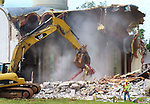 WATERBURY  CT. - 22 July 2019-072219SV02-<br />The Holy Virgin Mary Orthodox Church is demolished on North Main Street in Waterbury Monday.<br />Steven Valenti Republican-American