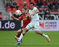 Fussball Bundesliga 2012/13: Bayer Leverkusen - Borussia Moenchengladbach