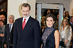 King Felipe VI of Spain and Queen Letizia Ortiz of Spain attends to Spanish Constitution 40th Anniversary Concert at National Auditorium of Music in Madrid, Spain. December 05, 2018. (ALTERPHOTOS/A. Perez Meca)