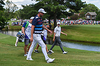Marc Leishman (AUS) and Matt Fitzpatrick (ENG) make their way down 12 during round 4 of the WGC FedEx St. Jude Invitational, TPC Southwind, Memphis, Tennessee, USA. 7/28/2019.<br /> Picture Ken Murray / Golffile.ie<br /> <br /> All photo usage must carry mandatory copyright credit (© Golffile | Ken Murray)