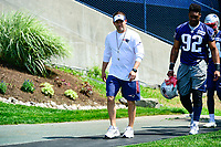 June 13, 2017: New England Patriots offensive coordinator Josh McDaniels walks to the practice field at the New England Patriots organized team activity held on the practice field at Gillette Stadium, in Foxborough, Massachusetts. Eric Canha/CSM