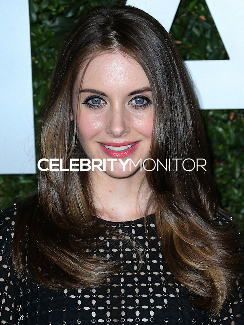 BEVERLY HILLS, CA, USA - OCTOBER 02: Alison Brie arrives at Michael Kors Launch Of Claiborne Swanson Franks's 'Young Hollywood' Book held at a Private Residence on October 2, 2014 in Beverly Hills, California, United States. (Photo by Xavier Collin/Celebrity Monitor)