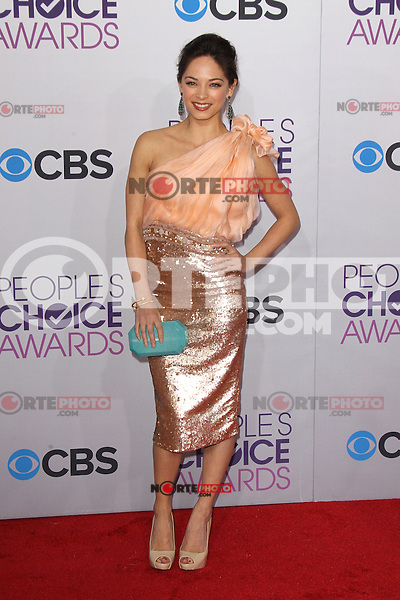 LOS ANGELES, CA - JANUARY 09: Kristin Kreuk at the 39th Annual People's Choice Awards at Nokia Theatre L.A. Live on January 9, 2013 in Los Angeles, California. Credit: mpi21/MediaPunch Inc. /NORTEPHOTO