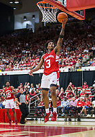 NWA Democrat-Gazette/BEN GOFF @NWABENGOFF<br /> Desi Sills, Arkansas guard, shoots a layup in the second half Saturday, Oct. 5, 2019, during the annual Arkansas Red-White Game at Barnhill Arena in Fayetteville.