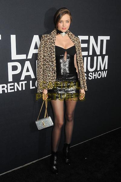 10 February 2016 - Los Angeles, California - Miranda Kerr. Saint Laurent At The Palladium held at the Hollywood Palladium. <br /> CAP/ADM/BP<br /> &copy;BP/ADM/Capital Pictures