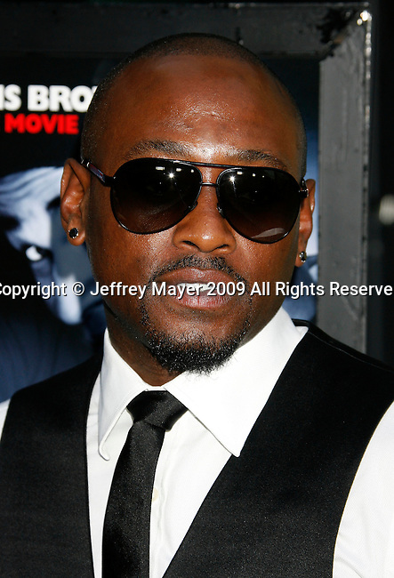 "HOLLYWOOD, CA. - May 20: Omar Epps  arrives at the Los Angeles Premiere of ""Dance Flick"" at the ArcLight Theatre on May 20, 2009 in Hollywood, California."