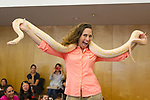 Reptile Show at the Los Altos Library