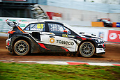 14th April 2018, Circuit de Barcelona-Catalunya, Barcelona, Spain; FIA World Rallycross Championship; Niclas Gronholm of the GRX Taneco Team in action during the morning World Rallycross free practice
