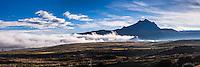 Sincholagua Volcano at sunrise, Cotopaxi Province, Ecuador