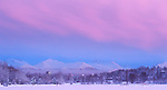 A winter scene from Westchester Lagoon Nov. 11, 2011 in Anchorage, Alaska.