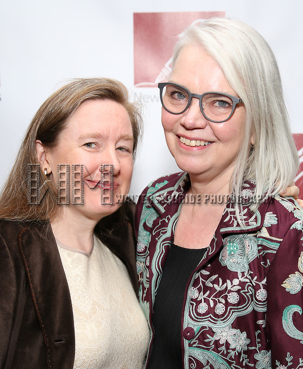 Sarah Ruhl and Susan Hilferty attends The New Dramatists' 68th Annual Spring Luncheon at the Marriott Marquis on May 16, 2017 in New York City.