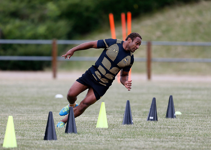 Photo: Richard Lane Photography. Wasps Training. 10/07/2017. Wasps' Gabiriele Lovobalavu.