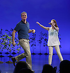 Michael Park and Laura Dreyfuss during the Broadway Opening Night Performance Curtain Call for 'Dear Evan Hansen'  at The Music Box Theatre on December 3, 2016 in New York City.